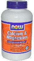 Кальций и Магний Цитрат, Now Foods, Calcium & Magnesium, 227 г