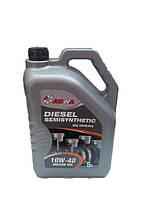 Полусинтетическое моторное масло Adwa SemiSynthetic Diesel 10w40 5l