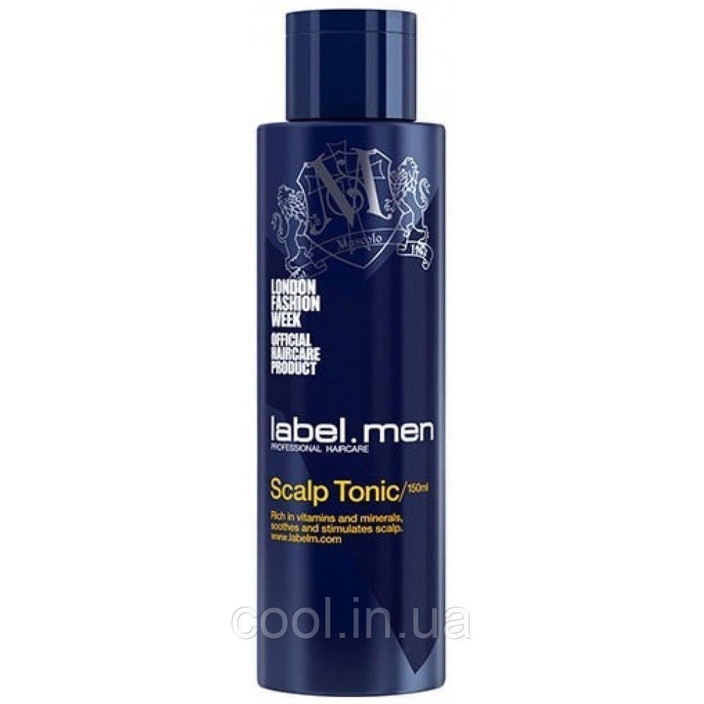 Тонік для шкіри голови label.men 150 мл. label.m