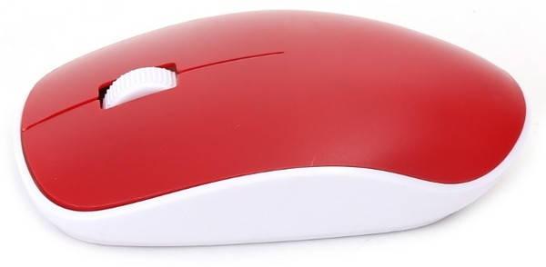 Мышь Omega Wireless OM0420 Red, фото 2