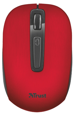 Мышь Trust Aera wireless mouse Red