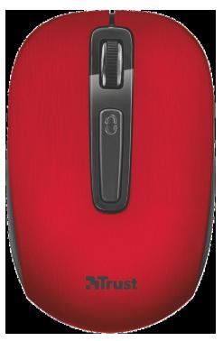 Мышь Trust Aera wireless mouse Red, фото 2