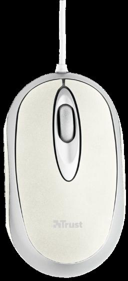 Мышь Trust Centa Mini Mouse - White