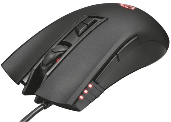 Мышь Trust GXT 121 Zeebo Gaming Mouse LED Lighting