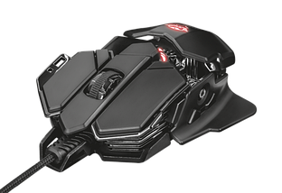 Мышь Trust GXT 138 X-Ray Illuminated gaming mouse, фото 3