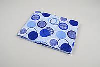 Простынь Lotus ранфорс - Erin голубой 150*210