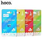 Micro SDHC карта памяти Hoco 16 GB Class 10 (без адаптера), фото 3