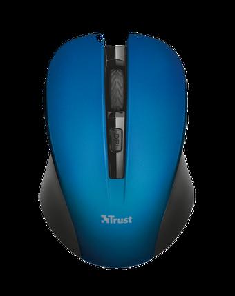 Мышь Trust Mydo wireless mouse blue, фото 2