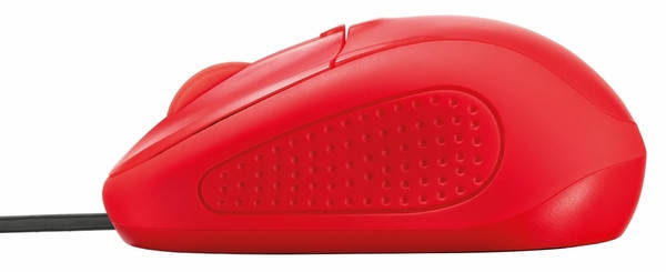 Мышь Trust Primo Optical Compact Mouse Red, фото 2