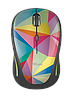 Мышь Trust Yvi FX wireless mouse geometrics