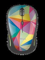 Мышь Trust Yvi FX wireless mouse geometrics, фото 1