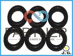 Упаковка резиновых прокладок на шланг М10 для смесителя, 10*1,9 (кольцо) (100шт)