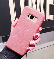 Чехол  3 в 1 с блестками на Samsung Galaxy Note 8, фото 1