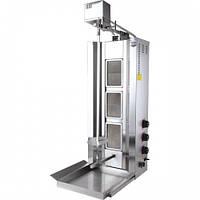 Аппарат для шаурмы газовый с приводом Remta D15 LPG (40 кг)