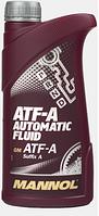 Трансмиссионное масло Mannol ATF-A Automatic Fluid 1L