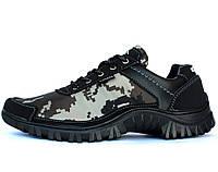 41 р. Мужские камуфляжные кроссовки на протекторной подошве (КЗ-16з)