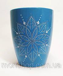 Чашка голубая 330 мл