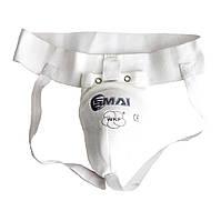 Захист паху для чоловіків SMAI Male Groin Guard WKF (Е025)