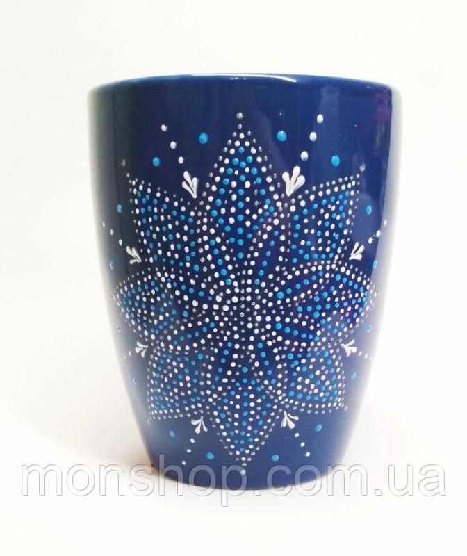 Чашка темно-синя 330 мл