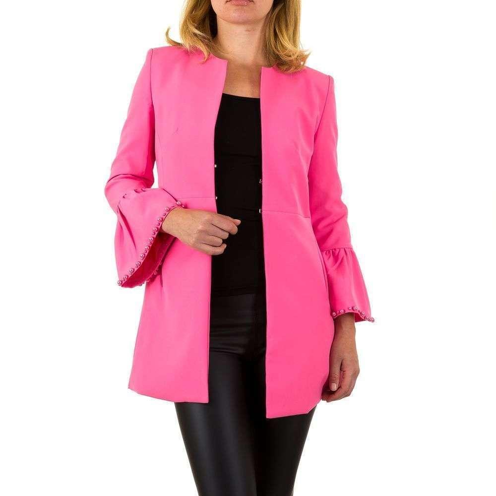 Пиджак женский с расклешенными рукавами Noemi Kent (Франция), Розовый
