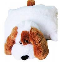 Детская подушка игрушка Собачка 45 см