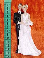 Свадебная фигурка для свадебного торта 13 см (14)