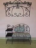 Кованый набор мебели в прихожую  -  06, фото 10
