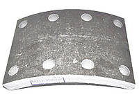 Накладка тормозная КАМАЗ ( сверленая-8 отверстий, 140х190), 53212-350110