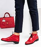 Женские демисезонные кожаные ботинки, фото 3
