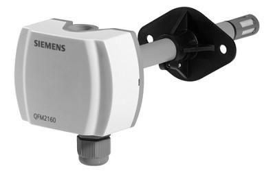 Совмещенный датчик температуры и влажности Siemens QFM2120