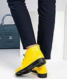 Женские демисезонные кожаные ботинки, фото 9