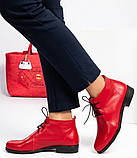 Женские демисезонные кожаные ботинки, фото 10