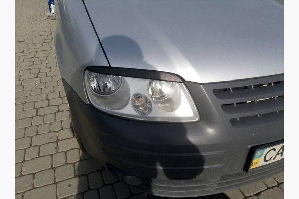 Реснички (2 шт, ABS) Volkswagen Caddy 2004-2010 гг.