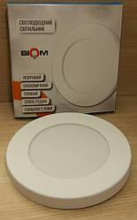 Светодиодный светильник Biom SF-R7 W 7Вт тонкий накладной
