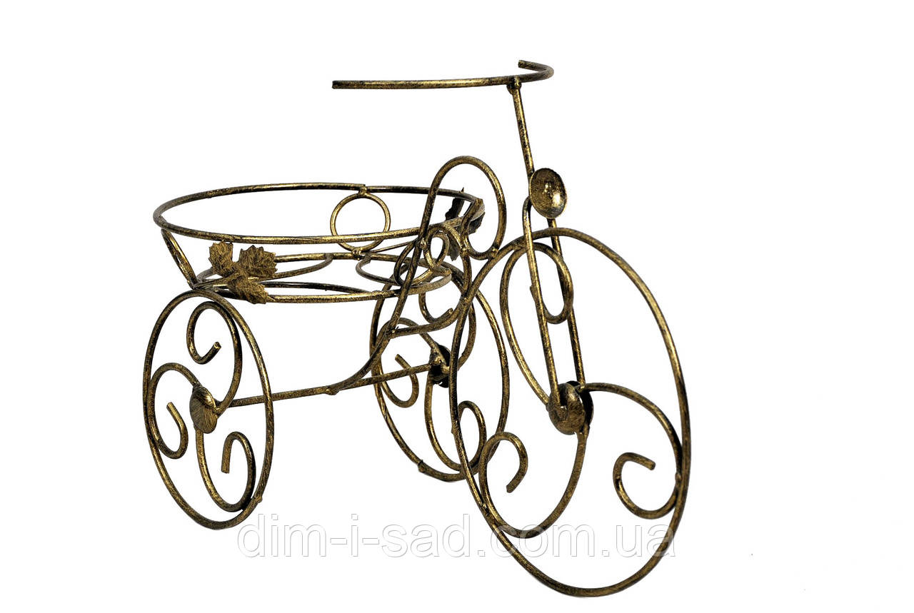 Подставки  кованые для цветов,велосипед 1 мини
