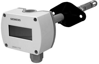 Совмещенный датчик температуры и влажности Siemens QFM3171D