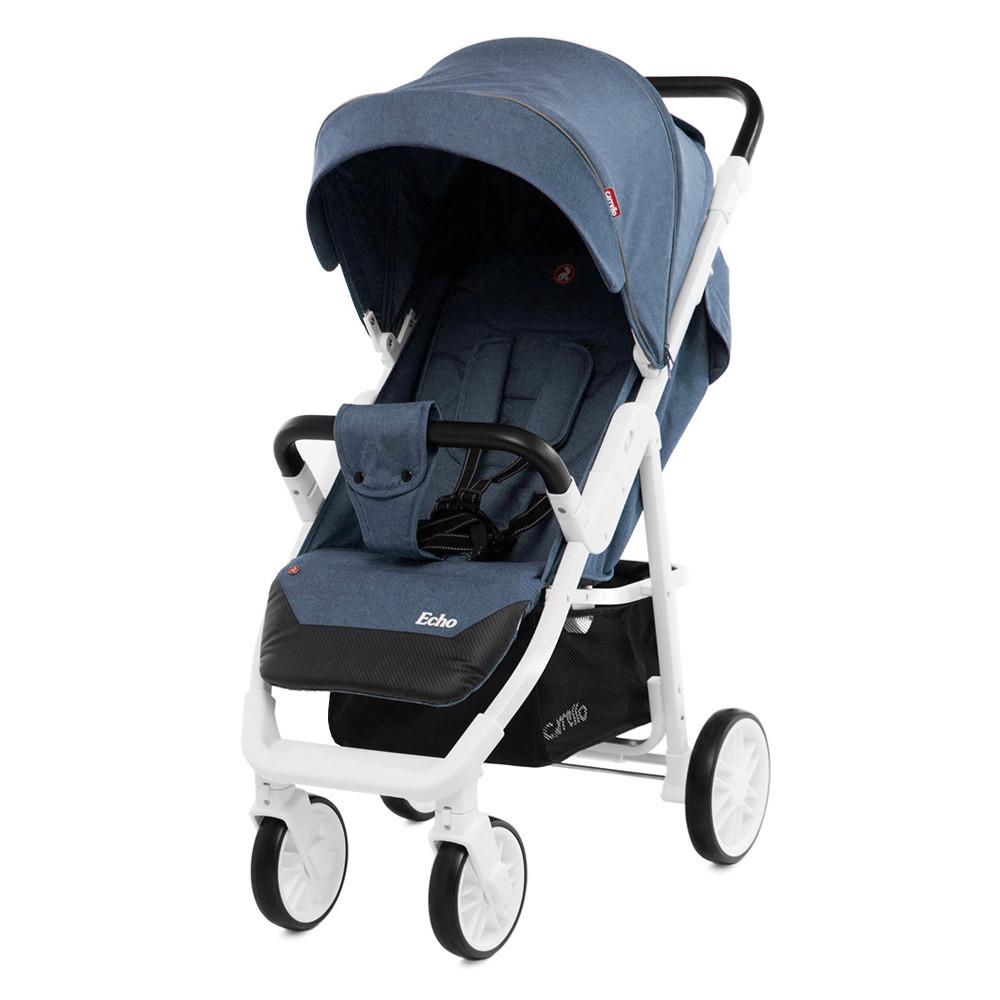 Коляска прогулочная CARRELLO Echo CRL-8508 Vista Blue +дождевик