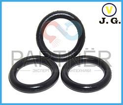 Упаковка резиновых прокладок на отечественный излив (кольцо) (16х11.2х2.4) (100шт)