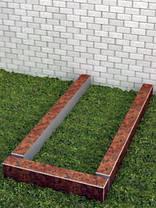 Квітник для пам'ятника 8х10см, фото 3