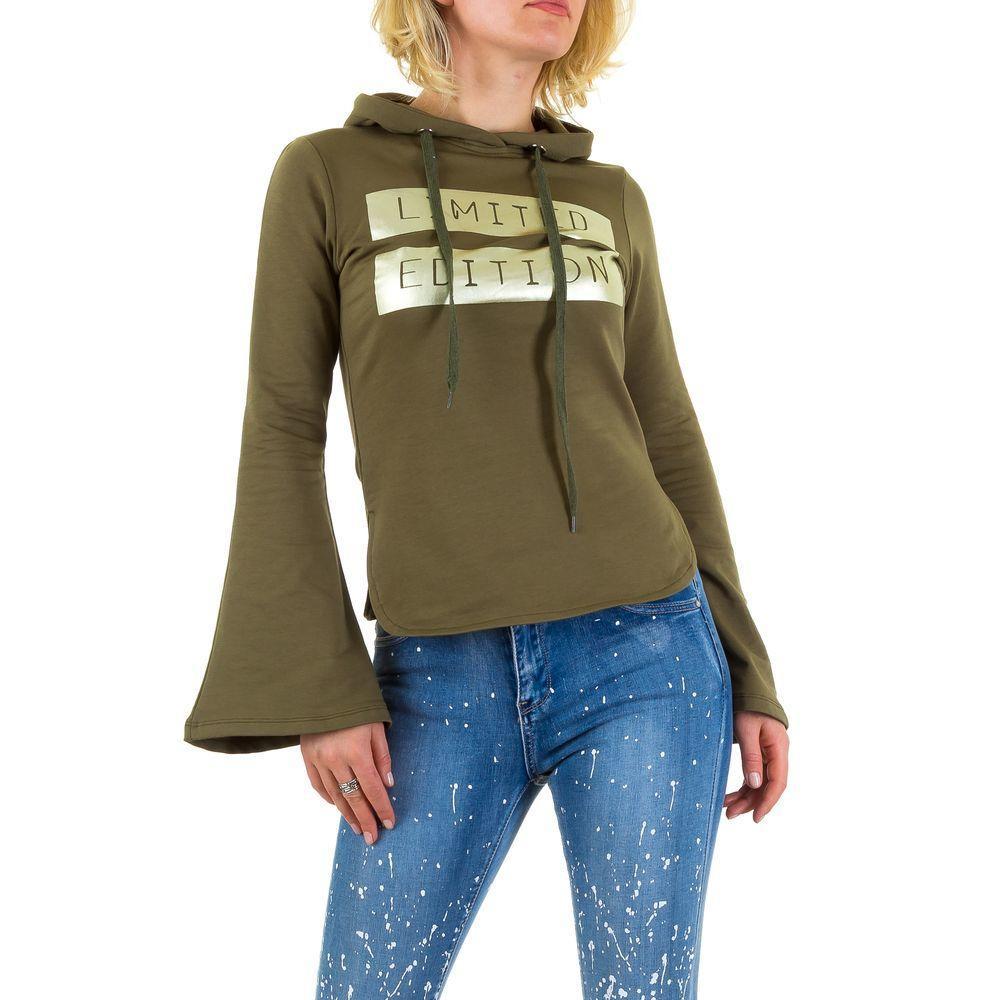 Женская толстовка от Emma&Ashley Design, размер L - Army Green - KL-WJ-7532-Army Green L