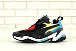 Мужские кроссовки Puma Thunder Spectra Black. Живое фото (Реплика ААА+), фото 2
