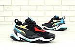 Мужские кроссовки Puma Thunder Spectra Black. Живое фото (Реплика ААА+), фото 9