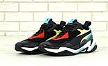 Мужские кроссовки Puma Thunder Spectra Black. Живое фото (Реплика ААА+), фото 3