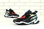 Мужские кроссовки Puma Thunder Spectra Black. Живое фото (Реплика ААА+), фото 7