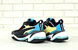 Мужские кроссовки Puma Thunder Spectra Black. Живое фото (Реплика ААА+), фото 4