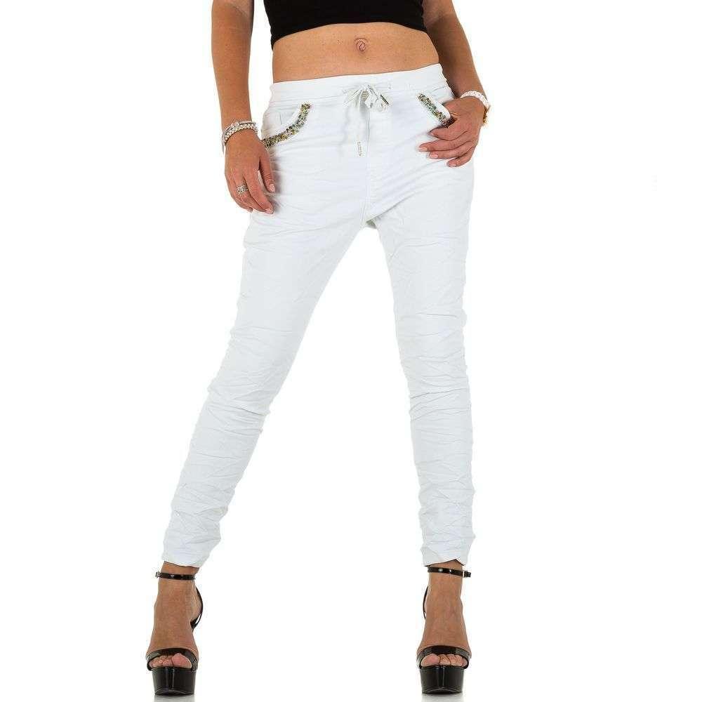 Женские джинсы от Place Du Jour blanc - KL-J-92928-Блан