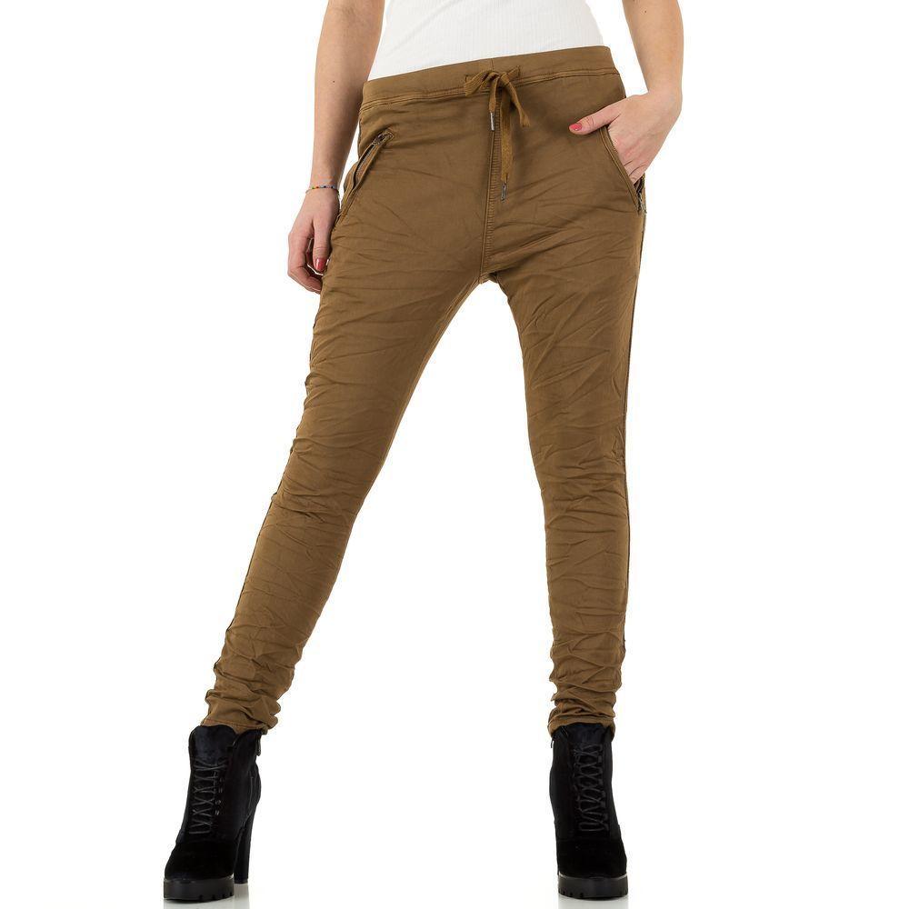 Женские джинсы от Place Du Jour, размер 38 - choucola - KL-J-96043-1-choucola 38