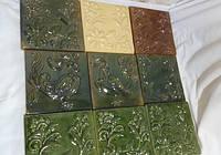 Кафель, изразцы - глиняная плитка для облицовки стен, печей, каминов, фасадов, бассейнов, полов...