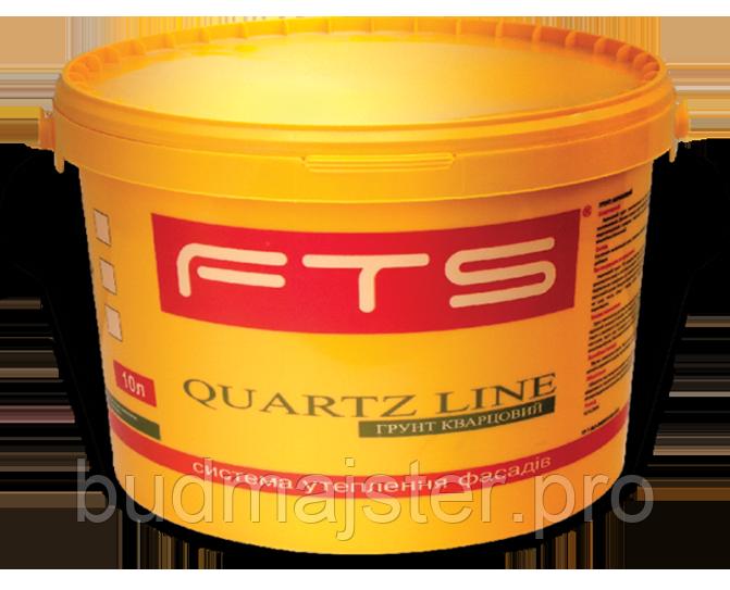 Фарба FTS грунтуюча акрилова Quartz line, 25 кг