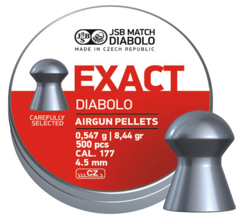 Пули пневматические JSB Diabolo Exact 0.55 гр (500 шт)